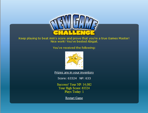 New_game_challenge
