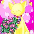 Aisha_and_flower